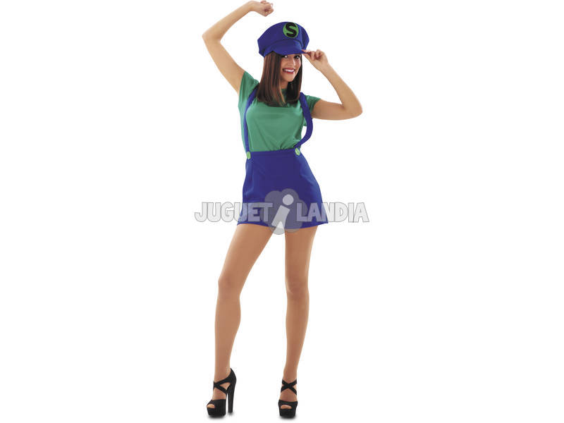 Disfarce Mulher L Super Lady Verde