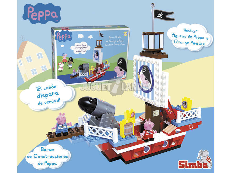 Peppa Pig Barco Construcciones