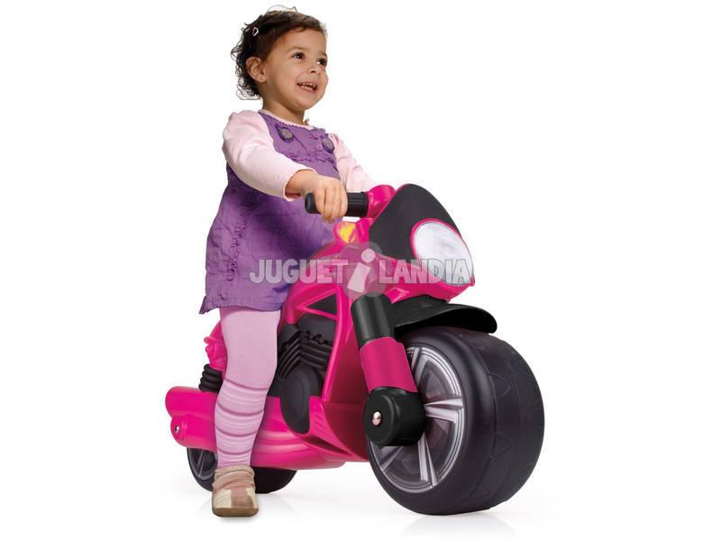 Correpasillos Moto Wheeler Pink