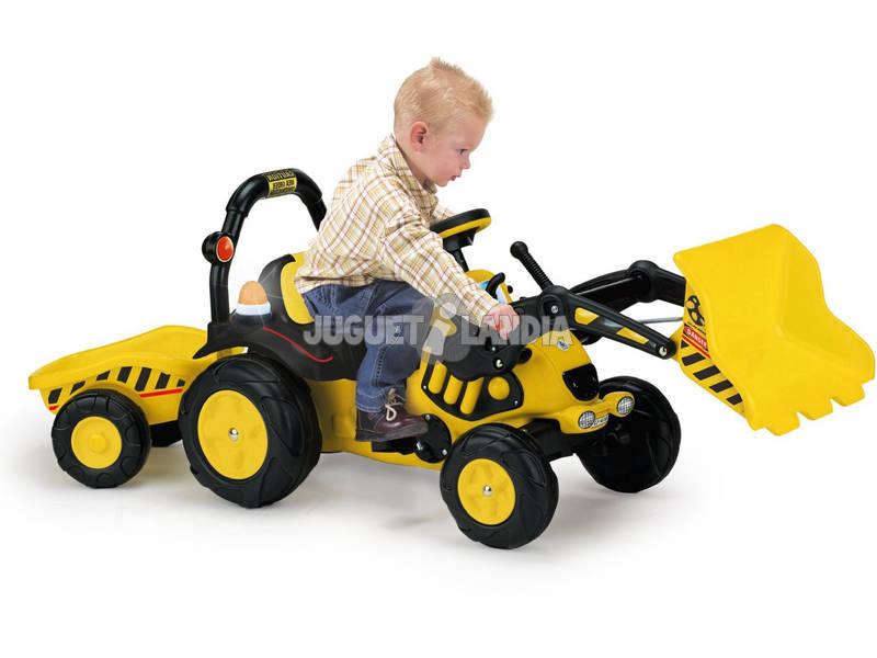 Tractor Toony con Volquete a Pedales 2 Años Injusa 410