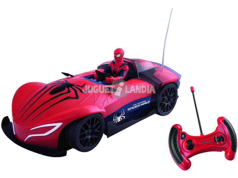 Radio Controle Spider Car Spiderman IMC Toys 551220