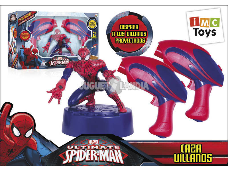 Spiderman Caza Villanos