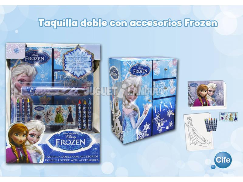 Frozen Taquilla Doble Glitter