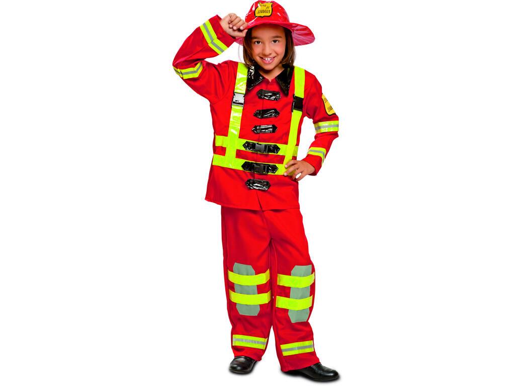 Costume Bimba M Vigile del Fuoco