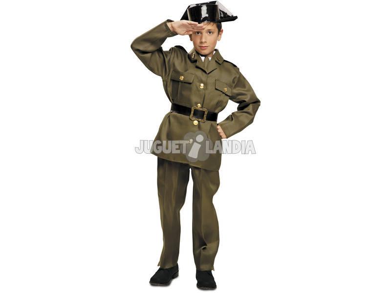 Guarda civil criança traje s