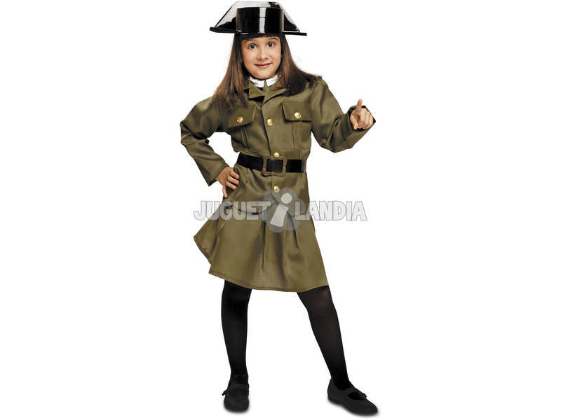 Disfarce Menina S Guarda Civil Mulher