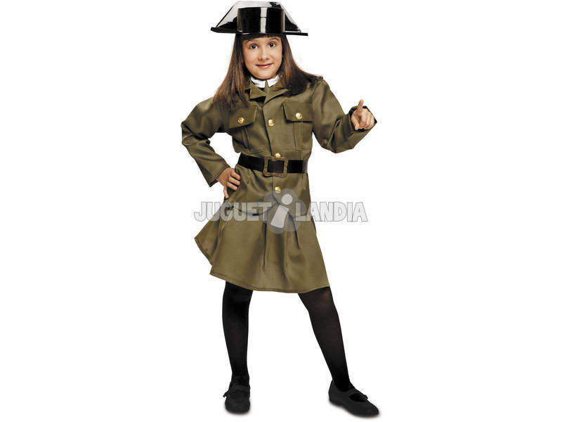 Maschera Bambina L Guardia Civil Donna