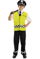 Déguisement Garçon XL Policier avec Gilet