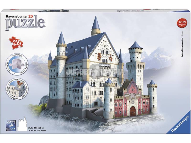Puzzle 3D Building Castelo Maxi Neuschwanstein Ravensburger 12573