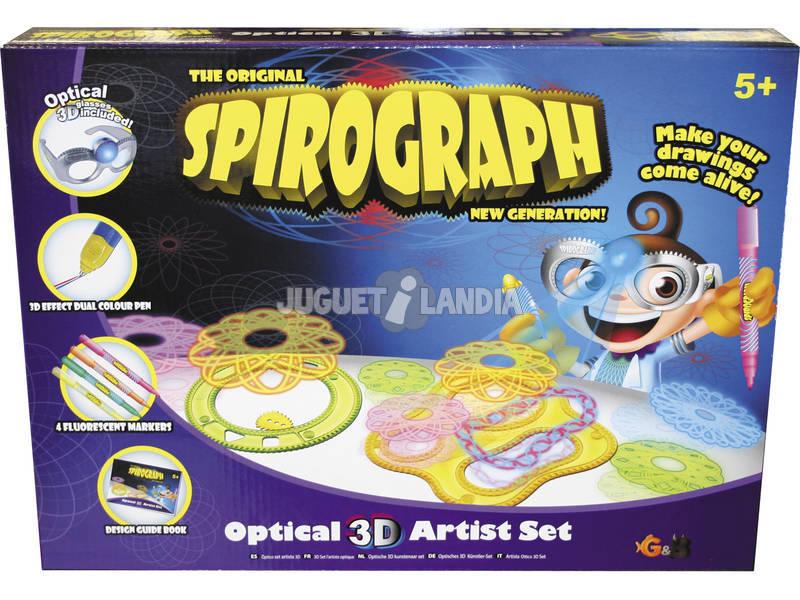 Spirograph Optical 3D