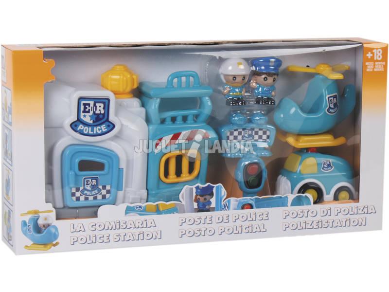A Delegacia de Polícia de Brinquedos Divertida