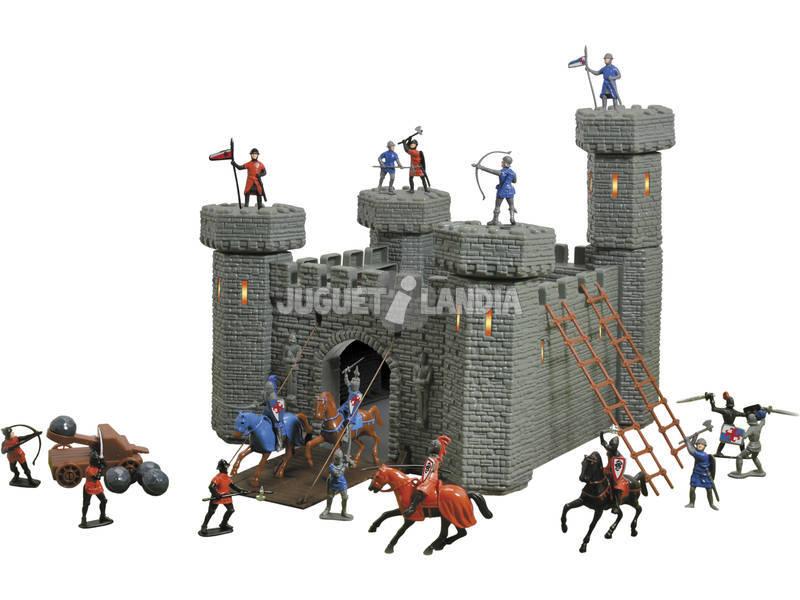 Château Médiéval avec figurines