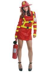 Maschera Donna L Pompiera
