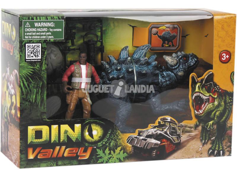 Dino Valley Dinossauro com Figura