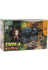 Dino Valley Dinosaurio Con Figura