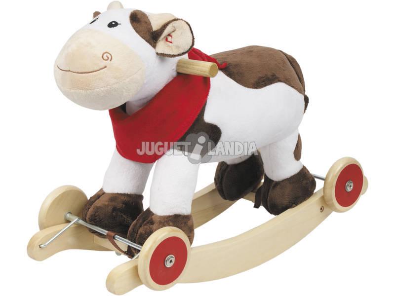 Vaca Balancin Con Ruedas