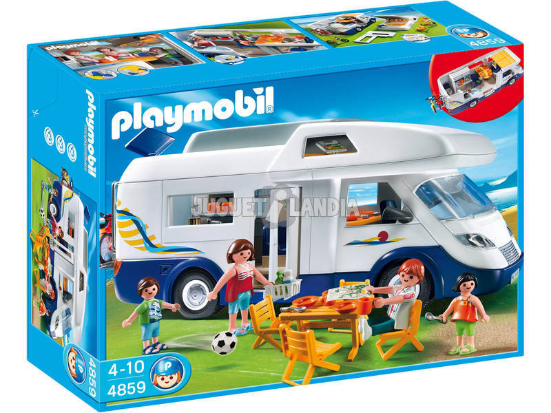 Playmobil Carravane Familliale
