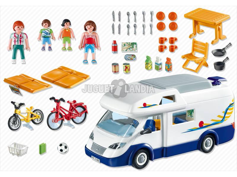 Acheter playmobil carravane familliale juguetilandia - Camping car playmobil pas cher ...