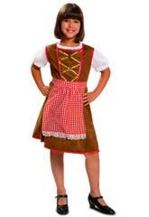Disfraz Niña S Tirolesa