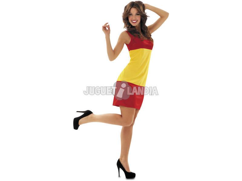 Disfraz Mujer L Bandera Española