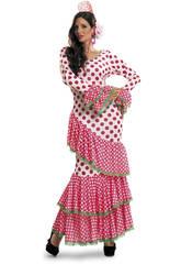 Déguisement Femme XL Flamenca Rouge