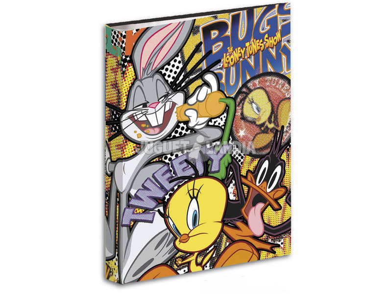Cartellina Anelli Looney Tunes Bugs