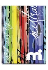 Cuaderno Microperforado 120 h. A4 Mistral Coast