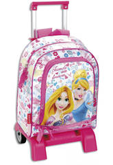 Daypack con Carro Princesas Forever