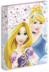 Carpeta Anillas Princesas Forever