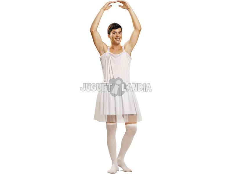 Disfraz Hombre L Bailarina Blanca