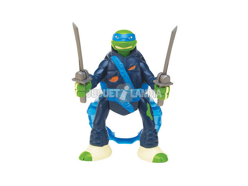 Tartarugas Ninja figuras Battle and Throw Giochi Preziosi 91620