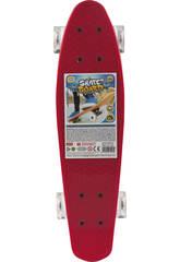 Skateboard plastique 53 cm. Ligne Centrale Aluminim