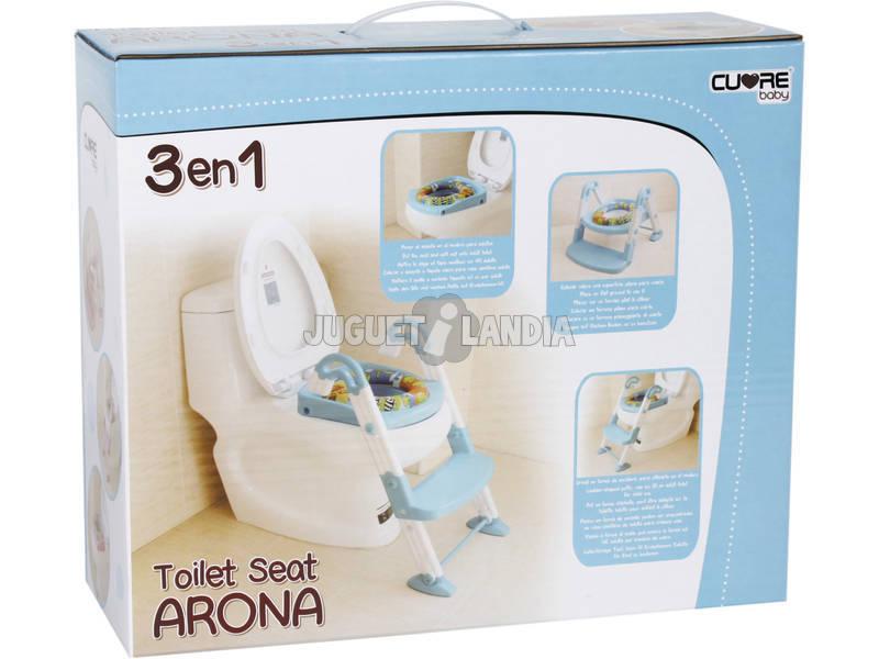 Adaptador Baño Ninos:Asiento WC 3 en 1 Arona – Juguetilandia