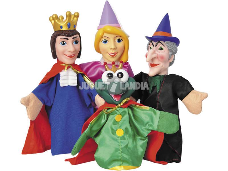 Marionetes Contos Infantis 4 Peças