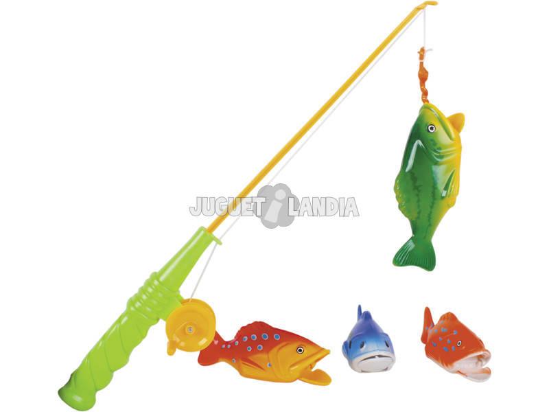 Set de Pesca con Caña y Peces