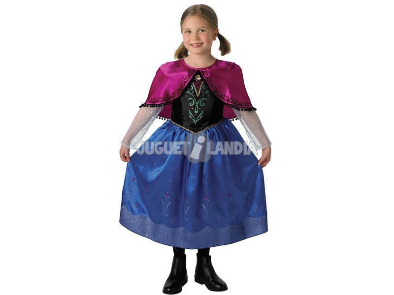Disfraz niña Frozen Anna Deluxe T-M