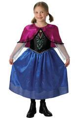 Déguisement fille Frozen Anna Deluxe T-M
