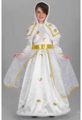 Déguisement blanc de princesse  taille L