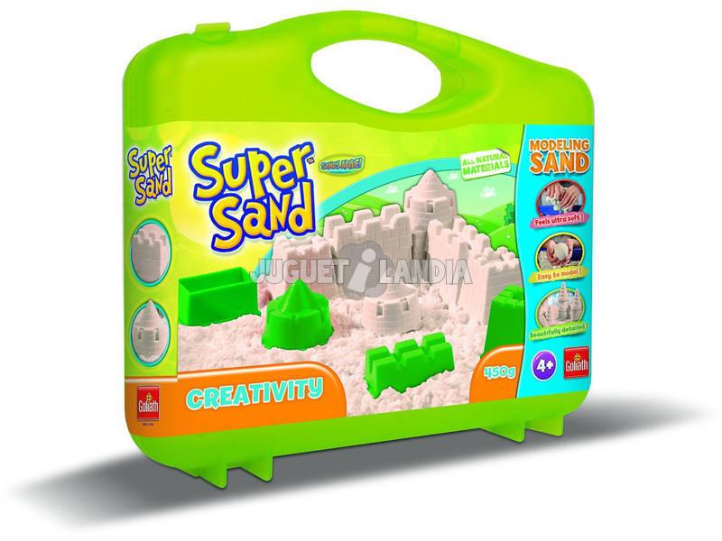 Gioco di Manualità Súper Sand Valigetta Creativa Goliath 83232