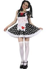 imagen Disfraz Alicia Sangrienta Mujer Talla L