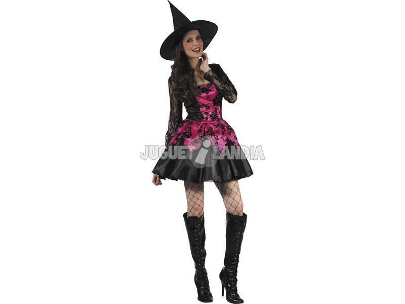 Costume Strega Rosa Donna L