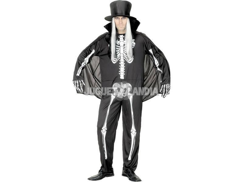 Esqueleto Masculino Costume Tamanho XL