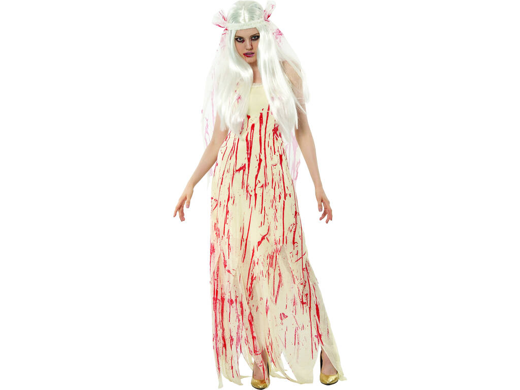 Disfraz Novia Muerta Mujer Talla XL