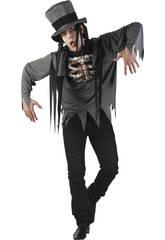 Disfarce Esqueleto Homem Tamanho L
