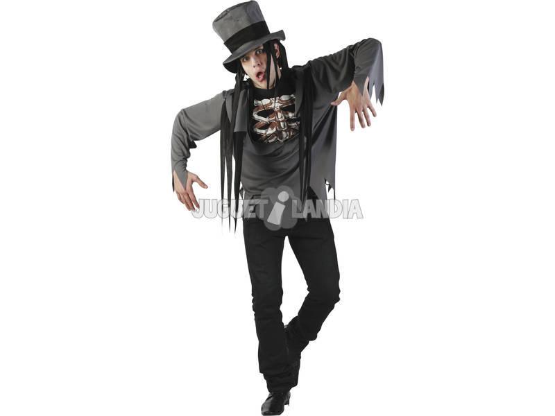 Disfarce Esqueleto Homem Tamanho XL