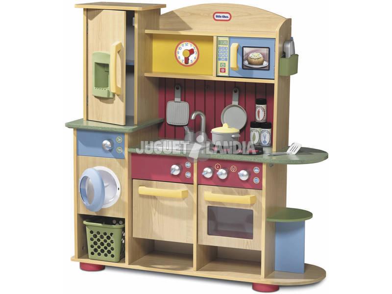Cozinha de Madeira L.T. de Brinquedo