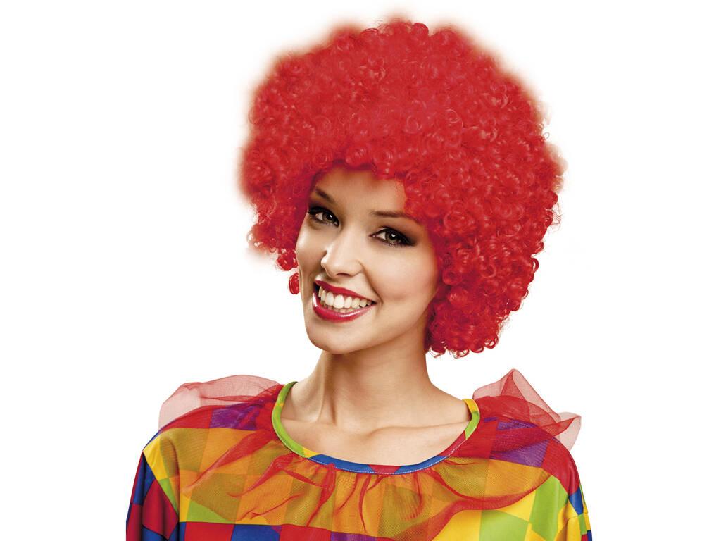 Parrucca Riccia Rossa