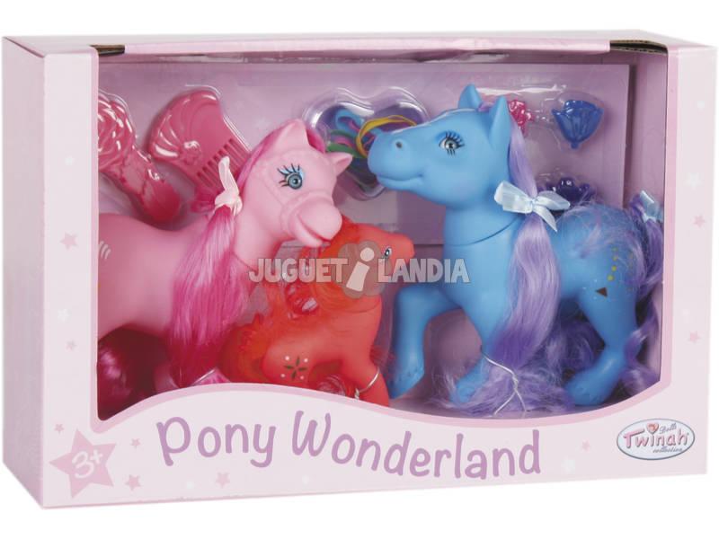 Familia de Caballos Pony Wonderland