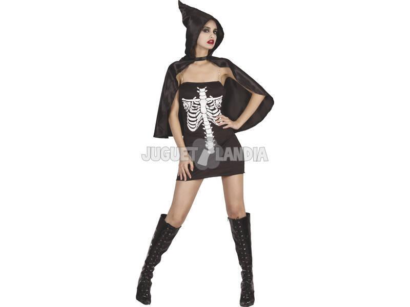 Fantasia Esqueleto Mulher Tamanho XL