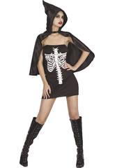 Disfraz Esqueleta Mujer Talla XL